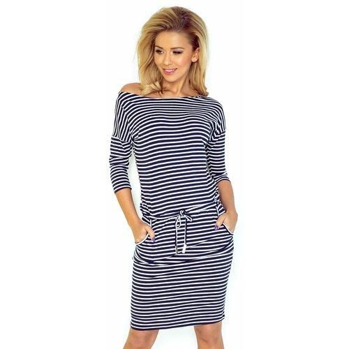 NUMOCO Ženska haljina 13 plava bijela  Cene