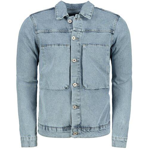 Trendyol plava muška dvostruka džepna jakna  Cene