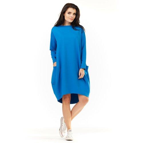 Infinite You Ženska haljina M154 crna svijetlo plavo  Cene