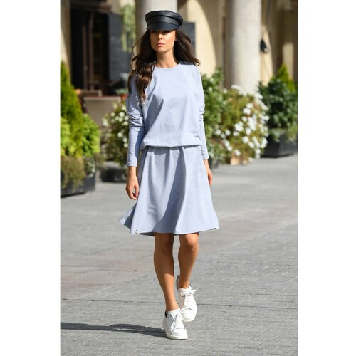 Lemoniade Ženska haljina L347 Light bela | siva  Cene
