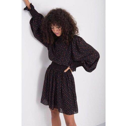 Fashionhunters BSL Haljina sa crnim uzorkom  Cene