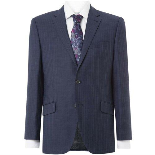 Turner and Sanderson Lambert Tailored Fit Pinstripe Suit jakna plava  Cene