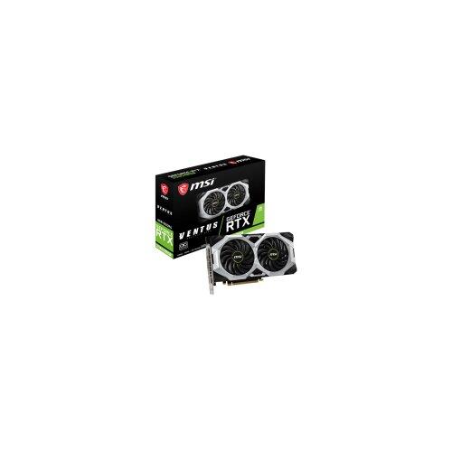 MSI nVidia GeForce RTX 2060 SUPER, 8GB, GDDR6, 256bit RTX 2060 SUPER VENTUS X grafička kartica Slike
