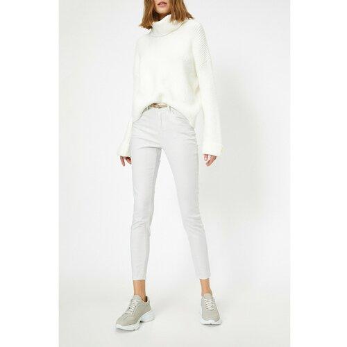 Koton ženske plave džepne detaljne hlače  Cene