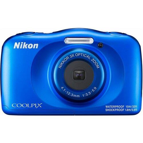 Nikon COOLPIX W150 vodootporni plavi digitalni fotoaparat Slike
