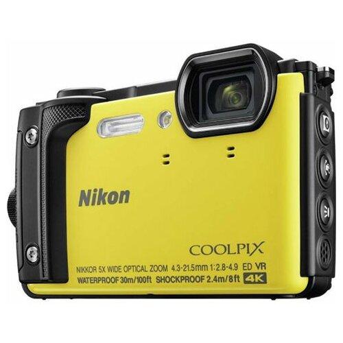 Nikon COOLPIX W300 Zuti digitalni fotoaparat Slike