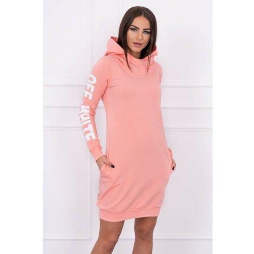 Kesi Ženska haljina duksera Basic tamnocrvena pink  Cene