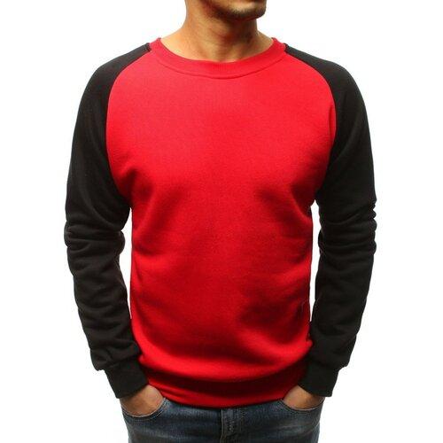 DStreet Crvena muška dukserica BX3806 crna   tamnocrvena   Crveno  Cene
