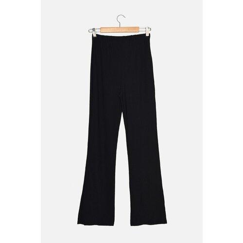 Trendyol Tamnoplave pletene hlače s elastičnim strukom  Cene