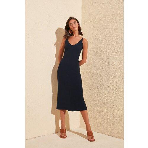 Trendyol Ženska haljina Trikotaža crna  Cene