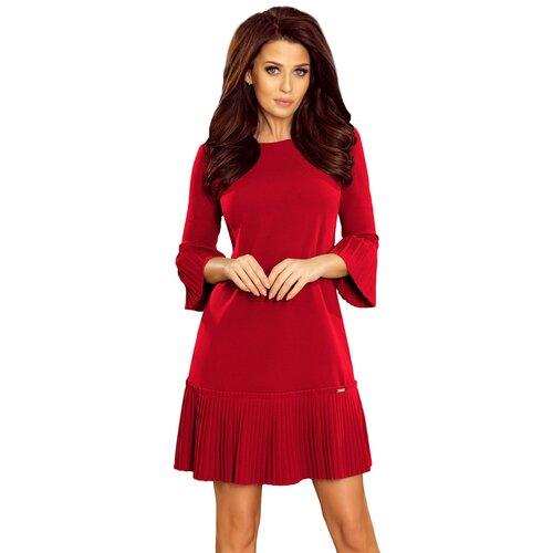 NUMOCO Ženska haljina 228 LUCY crna Crveno  Cene