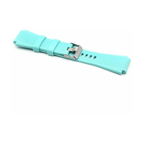 Narukvica za smart watch relief 22mm plava  Cene