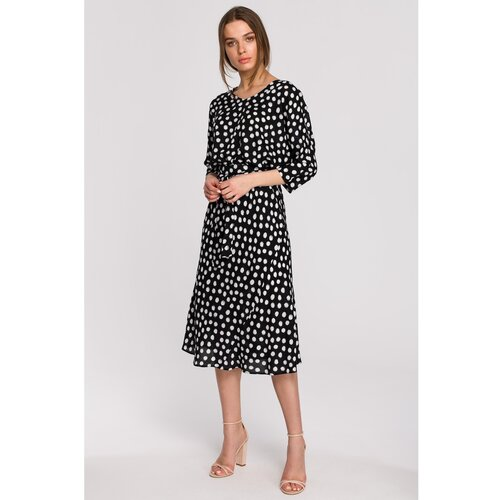 Stylove Ženska haljina S265 crna   siva  Cene