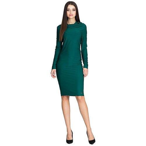 Figl Ženska haljina M603 tirkizna  Cene