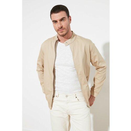 Trendyol Bež muški kaput bela | krem  Cene