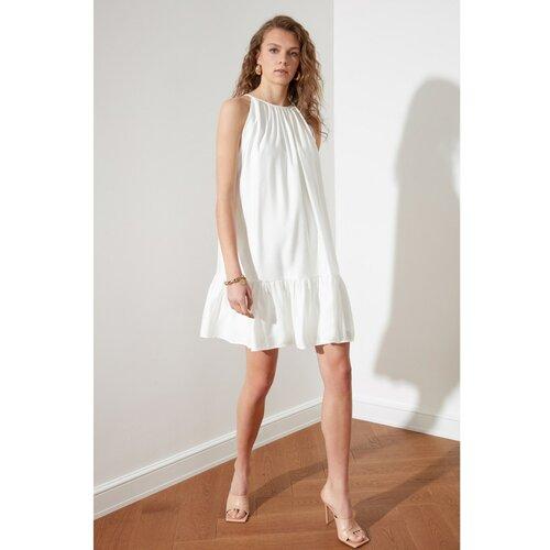 Trendyol bijela haljina sa vratima  Cene