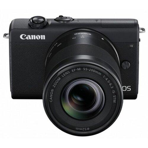 Canon EOS M200 BK M15-45 S+55-200 RUKSEE digitalni fotoaparat Slike