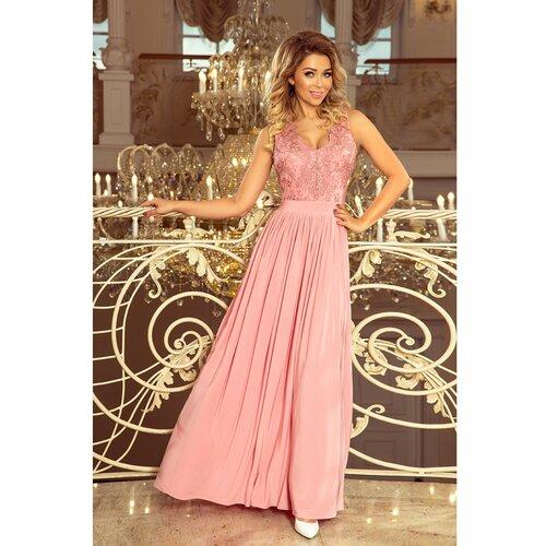 NUMOCO Ženska haljina 215 narandžasta | ružičasta  Cene