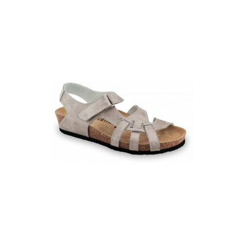 Grubin ženske sandale 2733680 belem siva  Cene