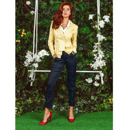 AMC ženske pantalone 310R teget  Cene