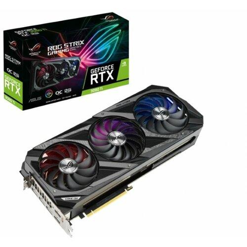 Asus nVidia GeForce RTX 3080 TI 12GB 320bit ROG STRIX RTX3080TI O12G GAMING grafička kartica Slike