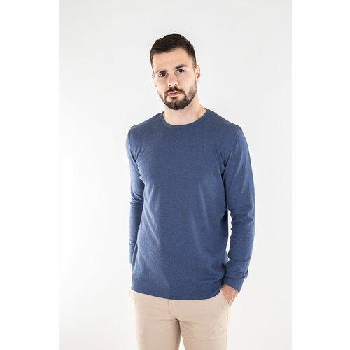 Barbosa muški džemper mdz 8065-07 07 - sax plava Slike