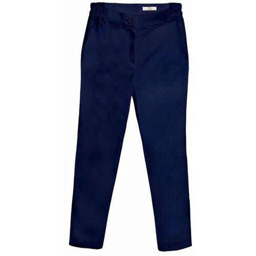 AMC ženske medicinske pantalone 370Q teget  Cene