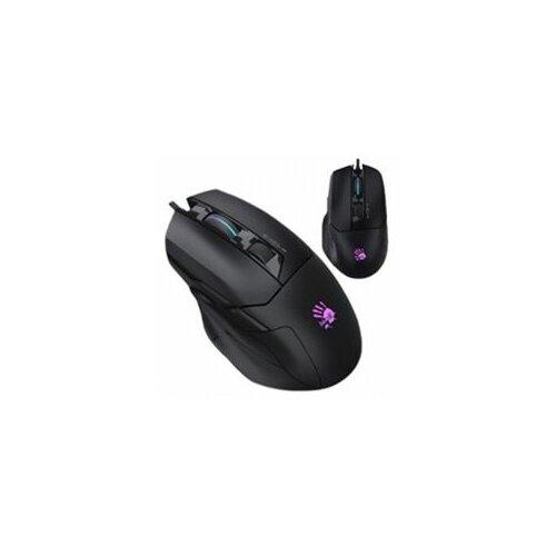A4Tech W70 Bloody RGB gejmerski USB crni oprički miš Slike