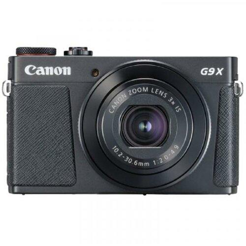 Canon PowerShot G9 X Mark II crni digitalni fotoaparat Slike