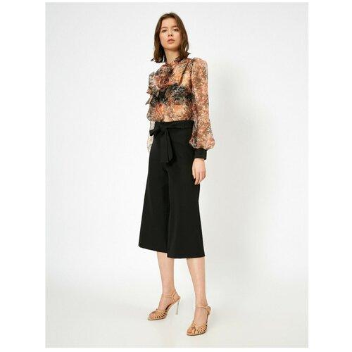 Koton Ženske crne hlače kratkih nogavica  Cene