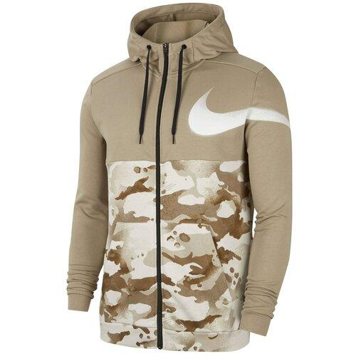 Nike Dri-FIT Muška dukserica za vježbanje s punim patentnim zatvaračem  Cene