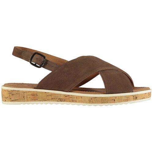 Kangol Women's sandals Fay Leather braon   krem  Cene