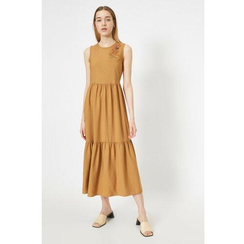Koton Ženska smeđa haljina  Cene