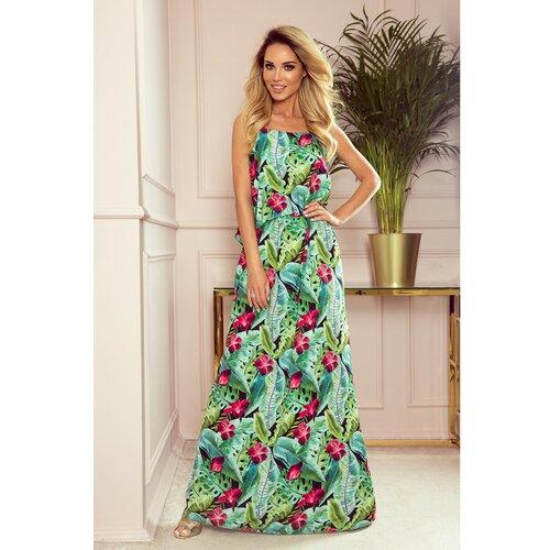 NUMOCO Ženska haljina 294 siva | zelena | tamnocrvena | svetlozelena  Cene