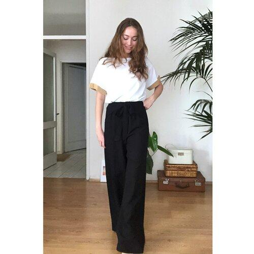 Trendyol Crne uske pantalone sa detaljima siva  Cene