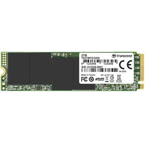 Transcend 2TB PCIe NVMe SSD 220S M.2 (2280) | TS2TMTE220S ssd hard disk Slike