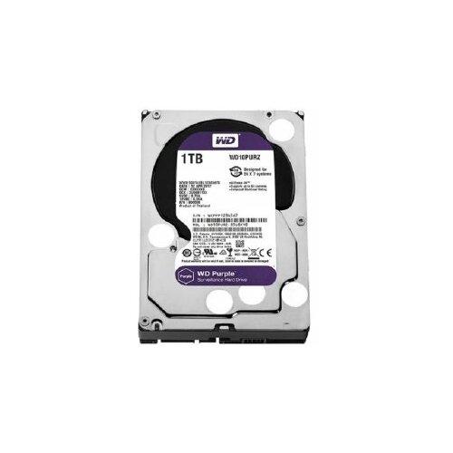 Western Digital SATA3 WD Purple 1TB WD10PURZ hard disk Slike