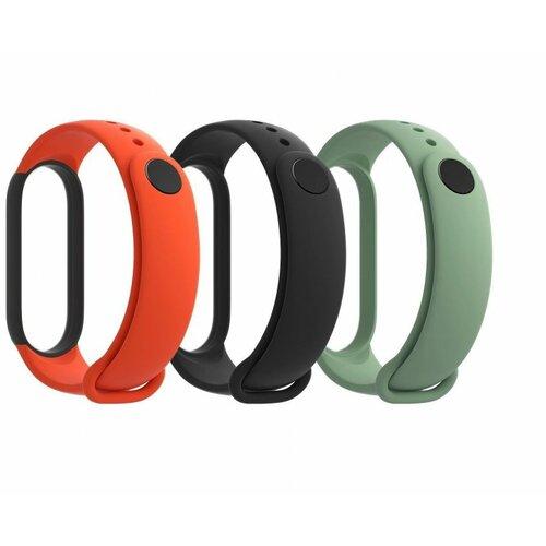 Xiaomi Mi Smart Band 5 Strap 3 pack  Cene