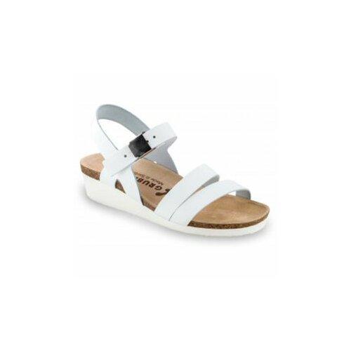 Grubin ženske sandale 1263650 lucca bele  Cene