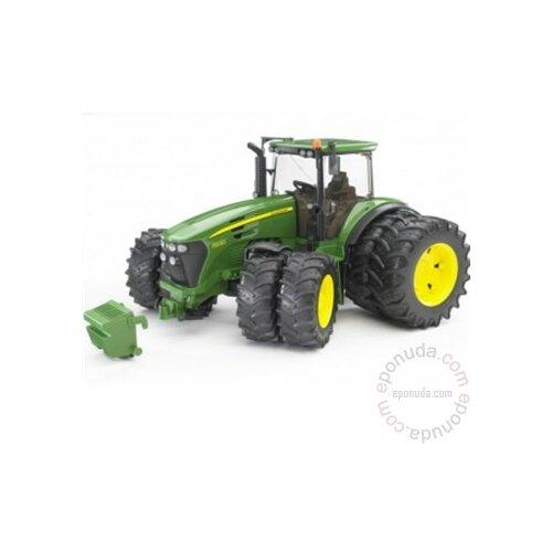 Bruder traktor John Deere 7930 sa duplim točkovima Slike