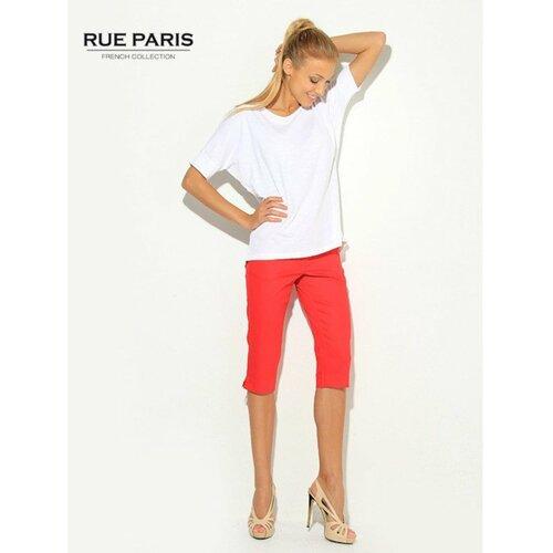 Fashionhunters Ženske crvene capri pantalone crvene boje  Cene