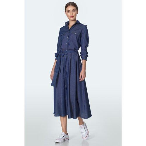 Nife Ženska haljina S159 plava  Cene