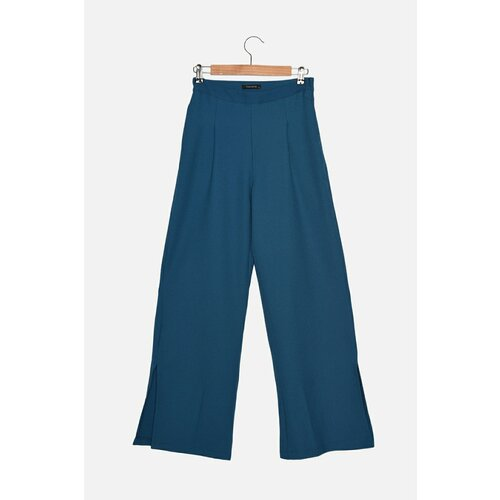 Trendyol Plave pantalone sa širokim nogama  Cene