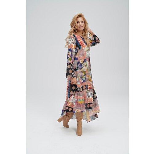 Ezuri Ženska haljina 5751 siva smeđa | krema  Cene