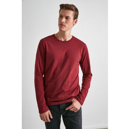 Trendyol Muška majica Basic crna crveno crveno  Cene