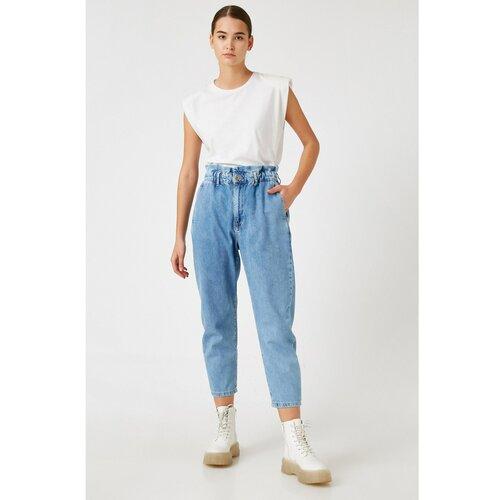 Koton Women's Light Indıgo Jeans plava   siva  Cene