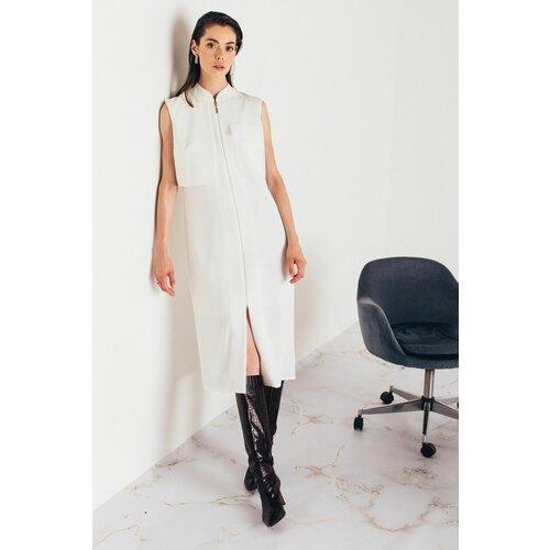 Mona midi bela haljina 54114701-1 Slike