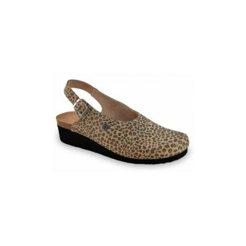 Grubin ženske sandale 1013610 stanley leopard  Cene