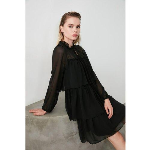 Trendyol crna haljina s zamašnjakom  Cene