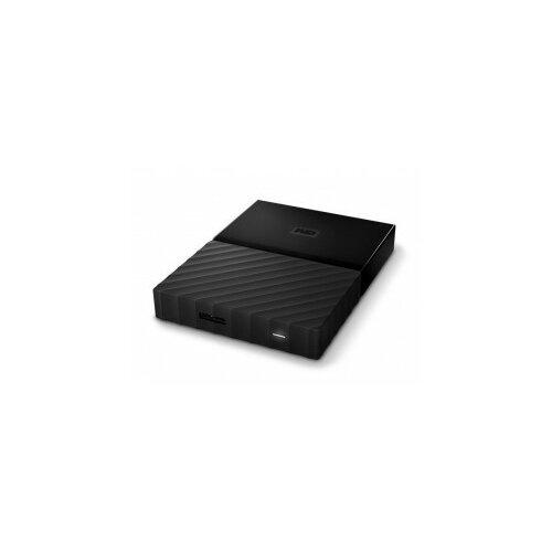 Western Digital eksterni hard disk My Passport Black 3TB Slike